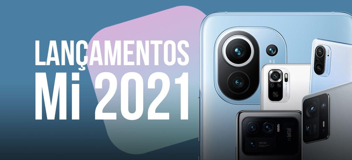 Xiaomi Mi: todos os celulares da linha Mi lançados em 2021