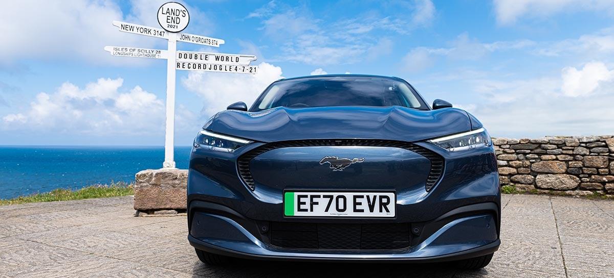 Mustang Mach-E consegue o recorde de eficiência energética no Guinness