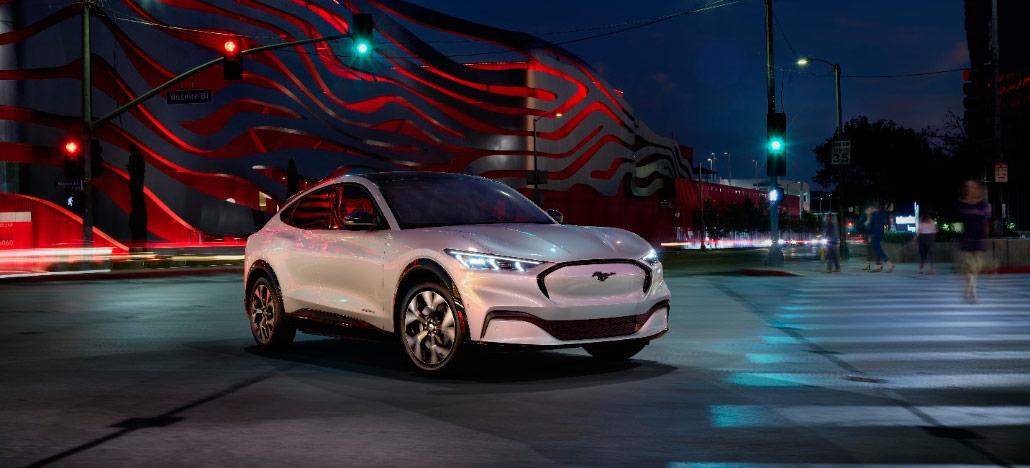 Ford apresenta seu primeiro Mustang elétrico, o Mach-E, com 366hp e até 480km de autonomia