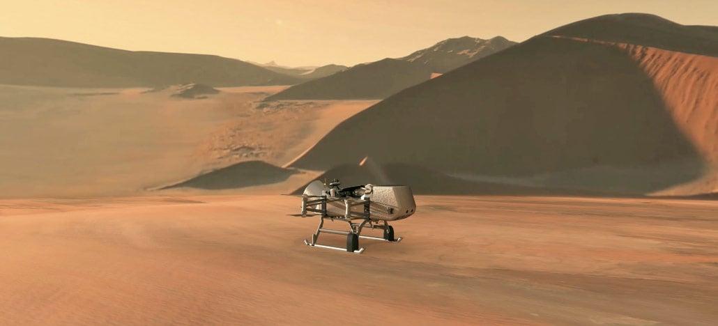 NASA vai usar drone com energia nuclear para explorar lua de Saturno atrás de vida