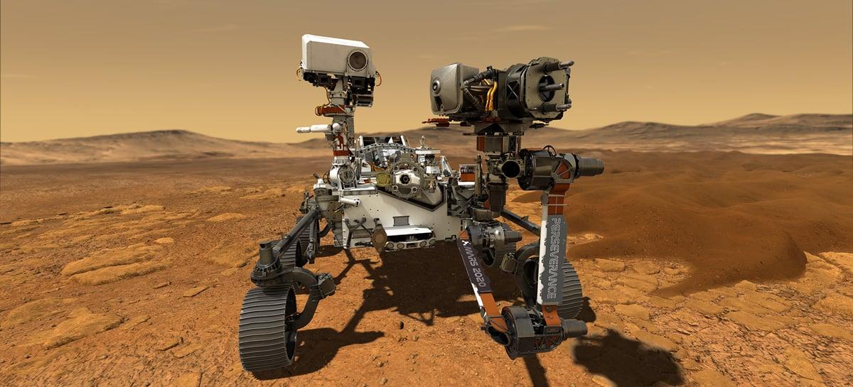 Missão Mars 2020 da NASA leva mais câmeras do que qualquer outra missão interplanetária
