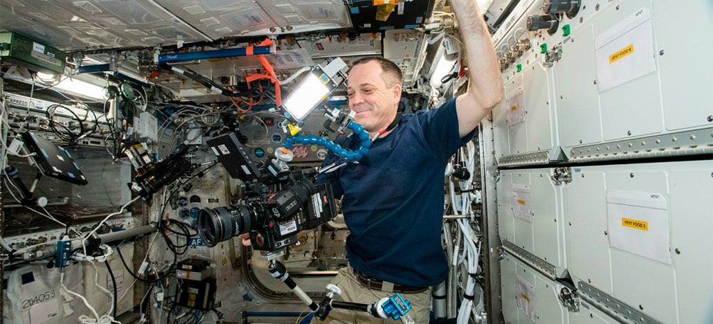 NASA divulga vídeo gravado em 8K na Estação Espacial Internacional em órbita