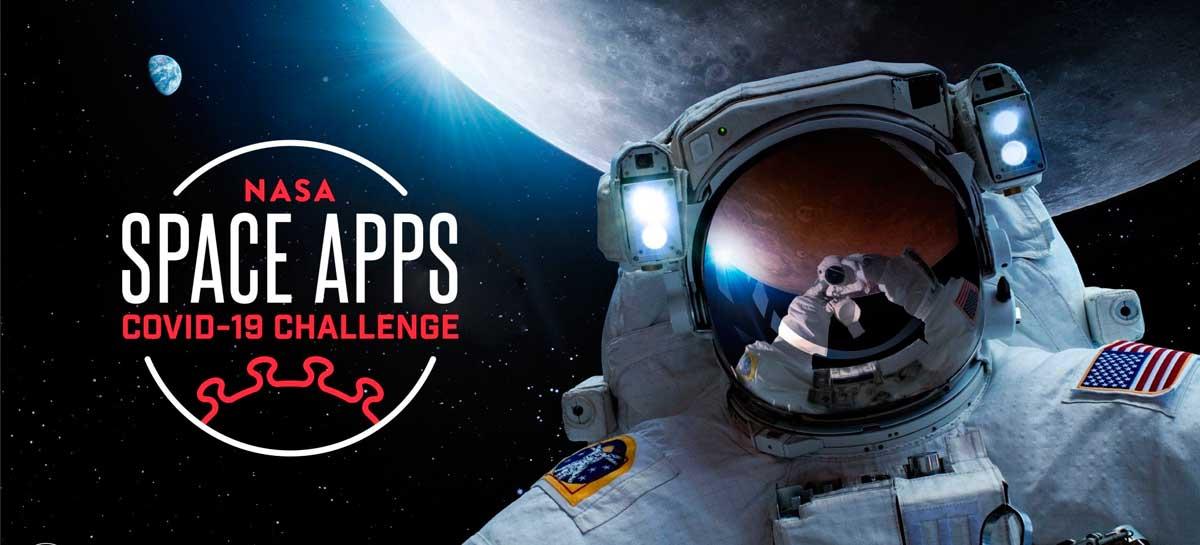 Equipes brasileiras estão competindo no hackathon da NASA em combate à Covid-19