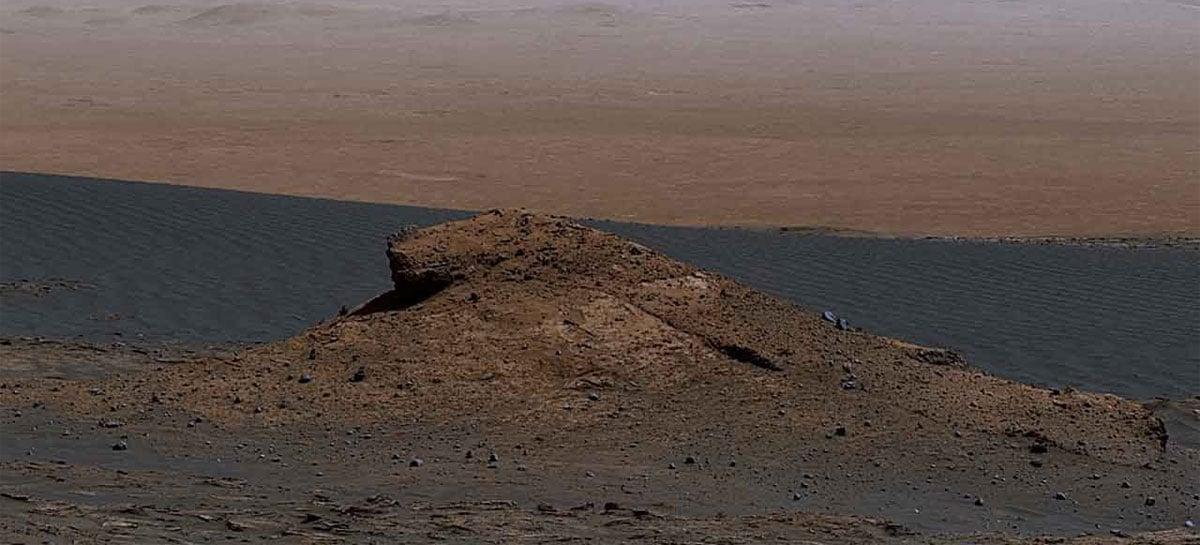 NASA divulga imagens panorâmicas de Marte