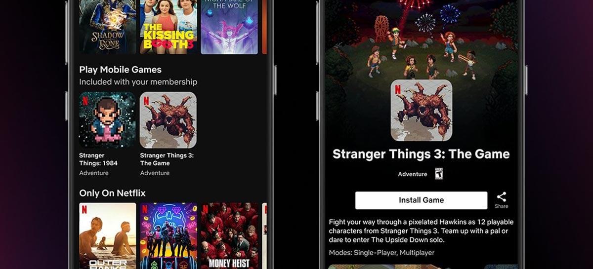 Netflix começou a testar a inclusão de jogos no seu serviço de assinatura