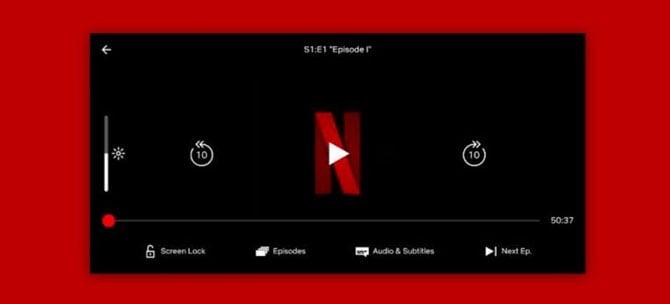Netflix adiciona botão de bloqueio de tela na versão mobile