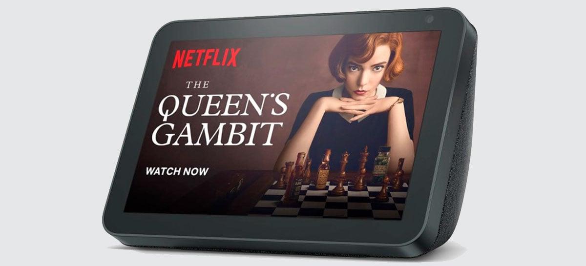 Agora é possível ver Netflix na tela do Amazon Echo Show