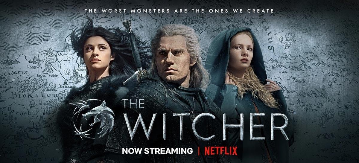 The Witcher é a série mais assistida no mundo atualmente