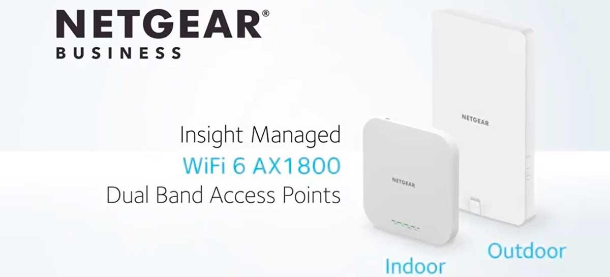 NETGEAR anuncia novos modelos de acesso ao Wi-Fi 6 para pequenas e médias empresas
