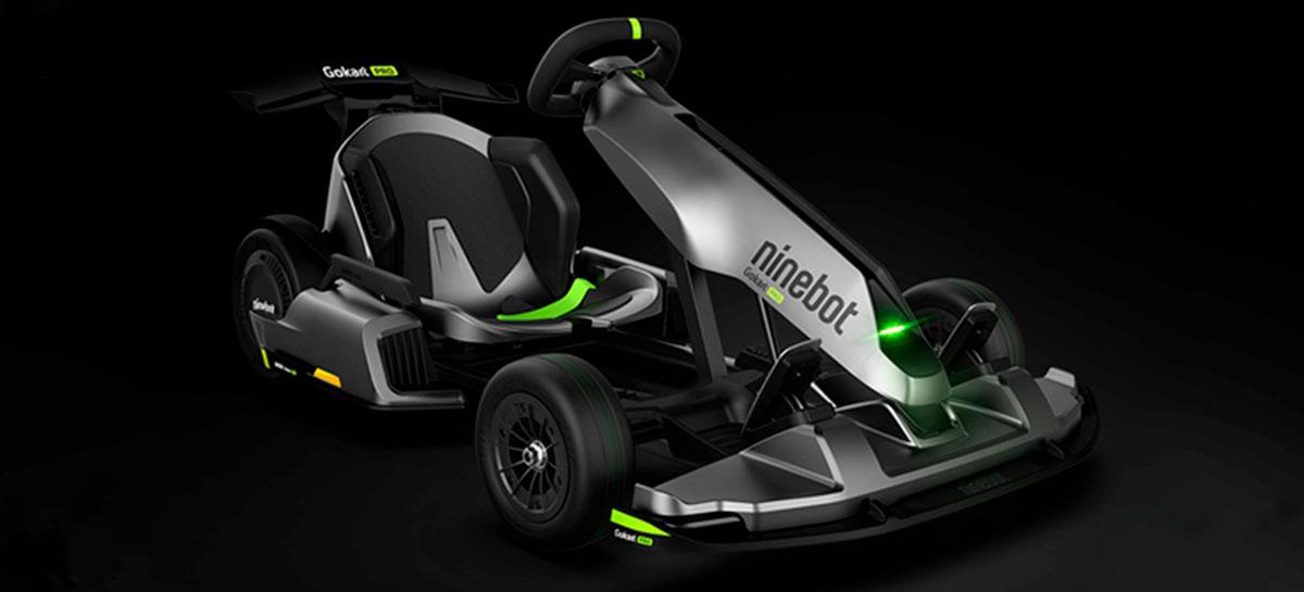 Ninebot Gokart Pro é o kart elétrico com caixa de som que vira uma scooter