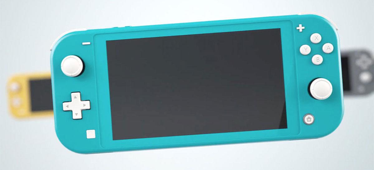 Nintendo Switch Lite é homologado pela Anatel no Brasil