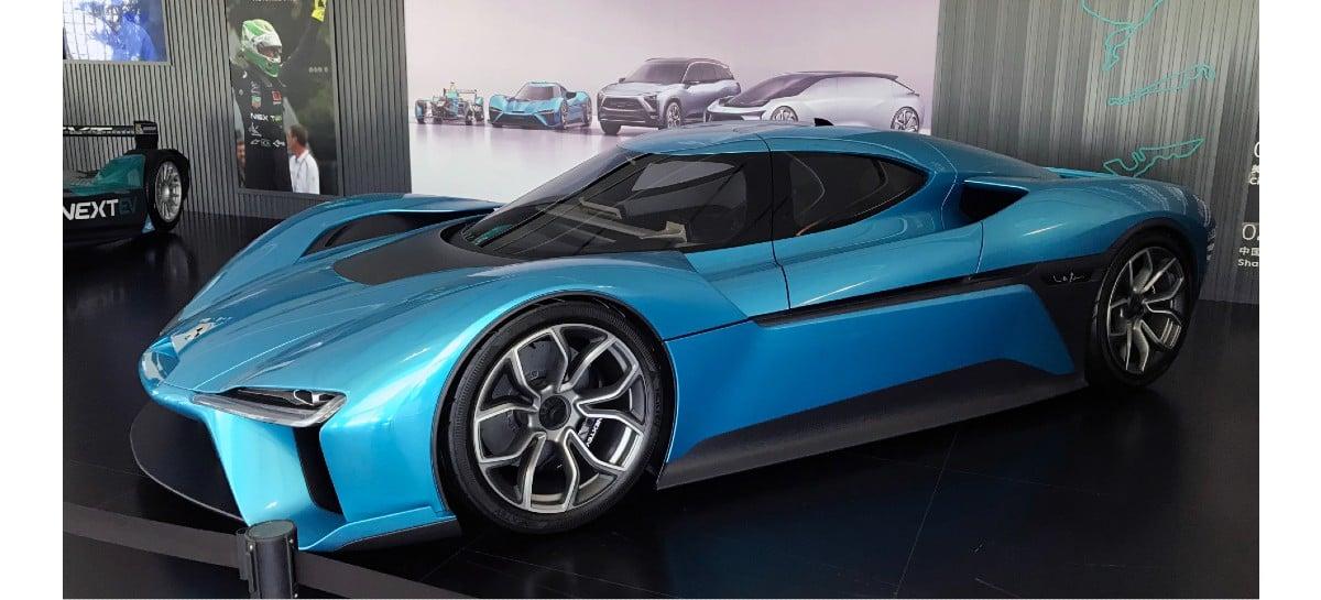 Nio EP9: conheça mais detalhes do carro elétrico mais rápido do mundo
