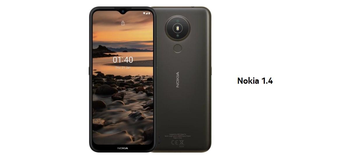 Smartphone Nokia 1.4 chega ao Brasil com Android 11 Go e chip Qualcomm 215