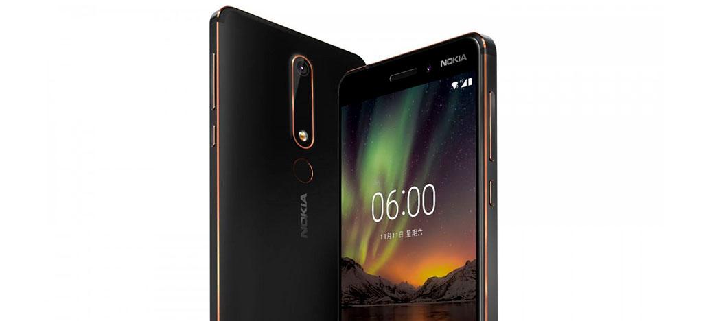 Nokia 6 2018 chega aos Estados Unidos oficialmente custando US$ 269