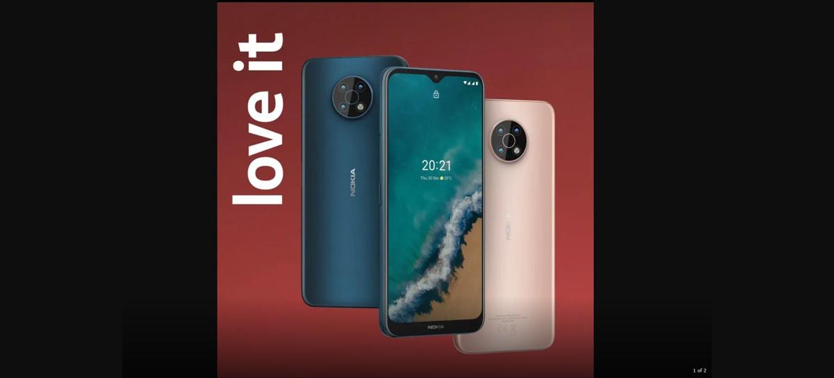Vídeo mostra visual do Nokia G50 5G antes da hora