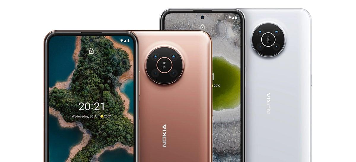 Nokia anuncia X10 e X20: intermediários com 5G e três anos de suporte