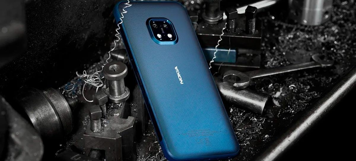 """""""Indestrutível"""": Nokia XR20 é novo smartphone super resistente da empresa"""