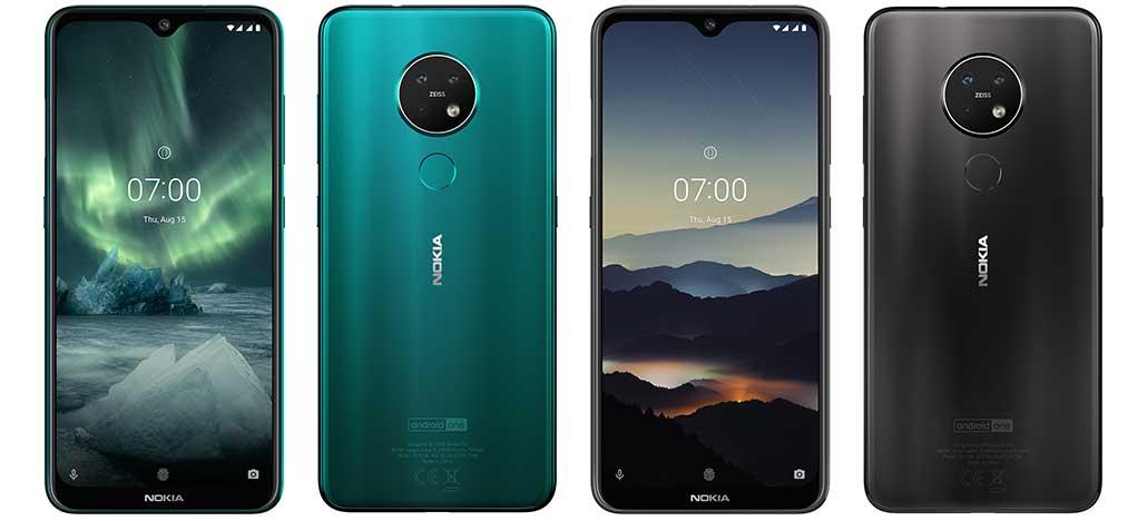 Nokia 7.2 chega com Snapdragon 660 e câmera principal de 48MP