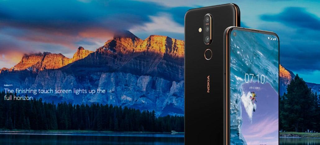Nokia X71 é anunciado com câmera principal traseira de 48MP e câmera frontal na tela