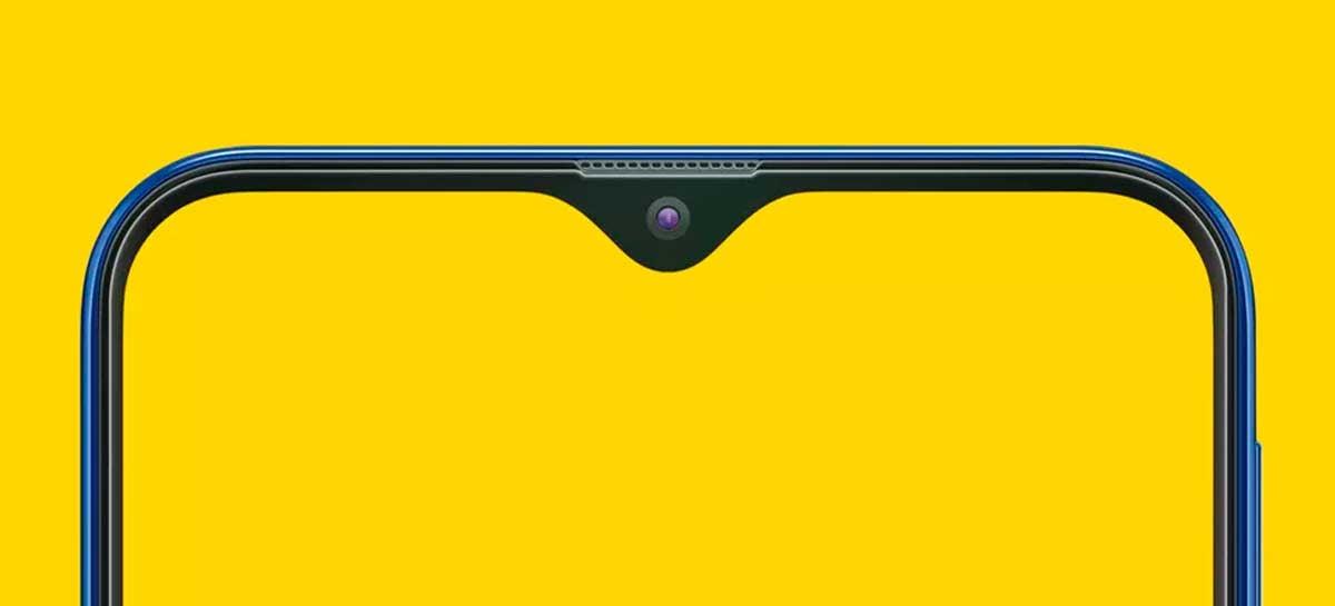 Veja como transformar o seu notch em formato de gota em um mostrador de bateria