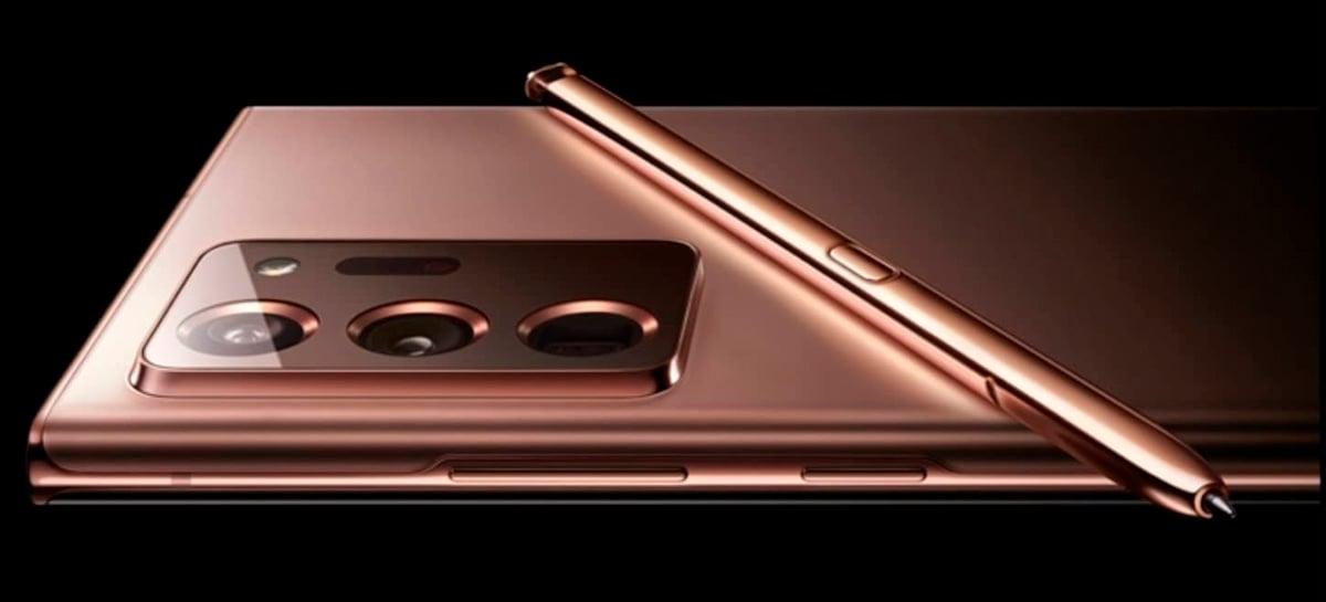 Modelos Galaxy Note 20 serão os