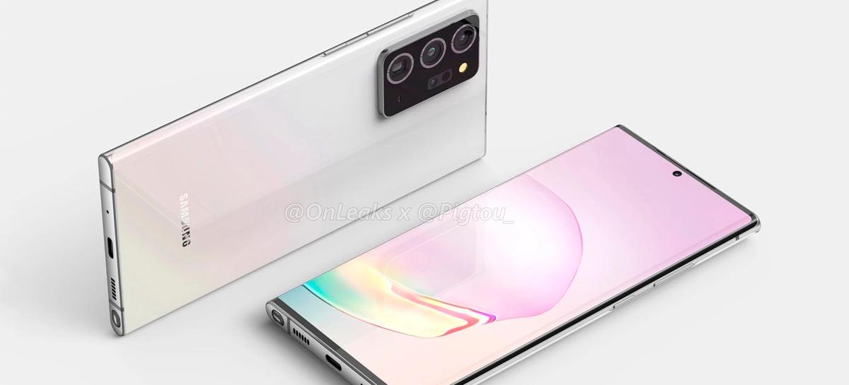 Smartphones da linha Galaxy Note 20 trarão versão melhorada do Exynos 990