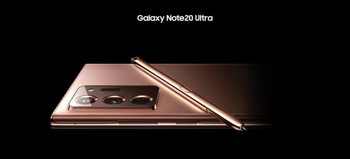 Atualização do Galaxy Note20 Ultra traz melhorias com foco na duração da bateria