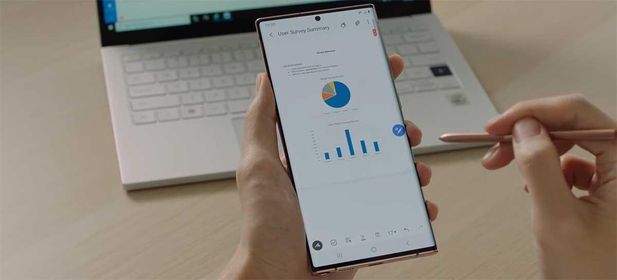 Galaxy Note 20 Ultra é o primeiro celular com display OLED VRR da Samsung