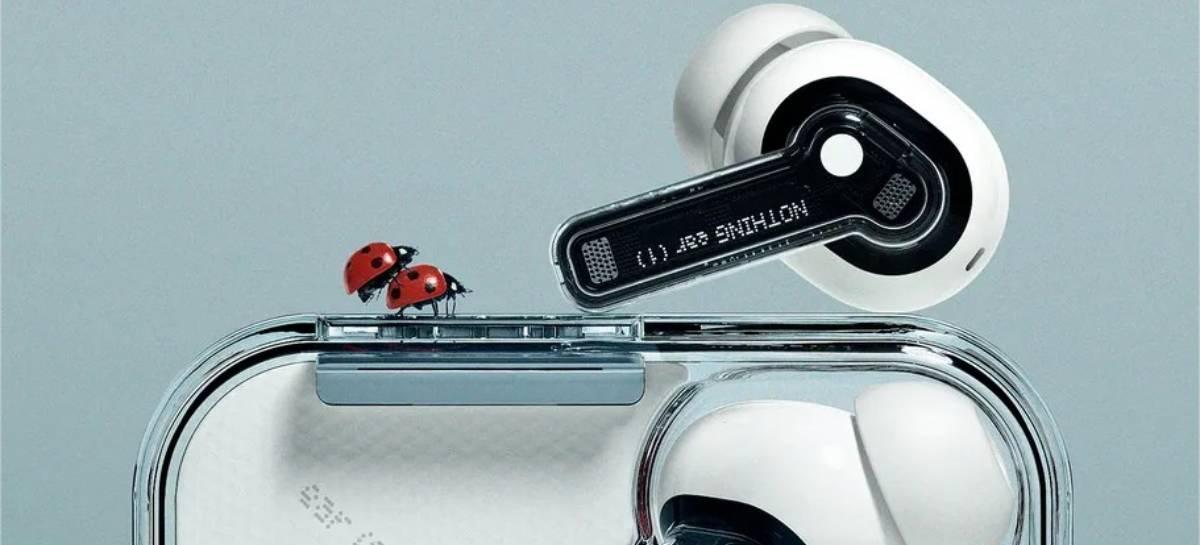 Nothing Ear (1): transparente, fone sem fio TWS tem ANC e bateria de 34h