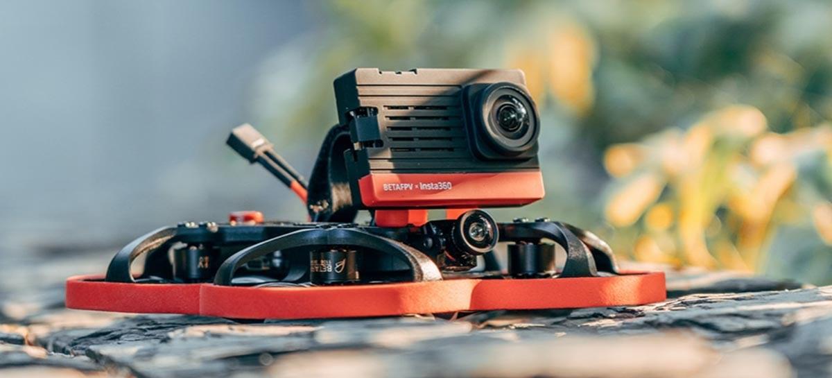Câmera SMO 4K para drones FPV tem apenas 30 gramas e filma em 4K 60FPs
