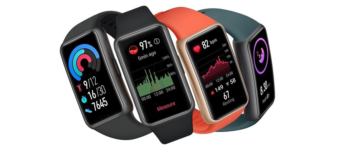 Nova Huawei Band 6 é anunciada trazendo novidades para a série