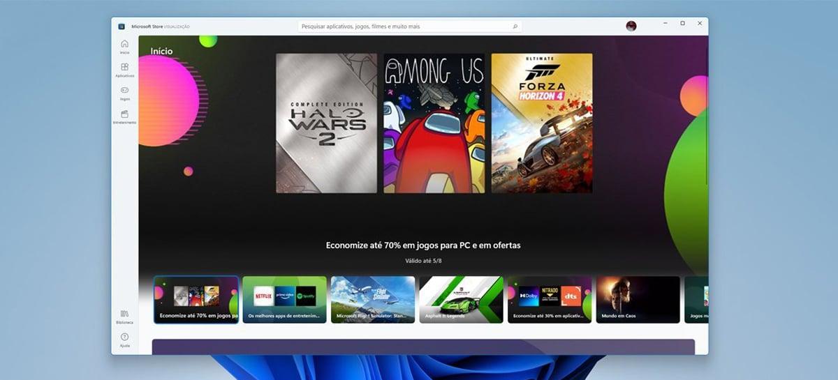 Nova Microsoft Store do Windows 11 já está disponível no Windows 10