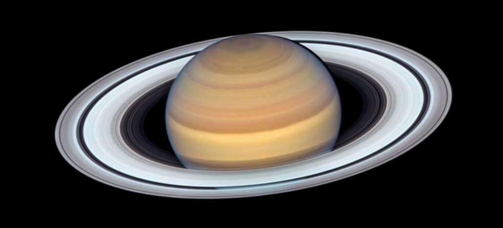 Telescópio Hubble faz nova fotografia surpreendente de Saturno
