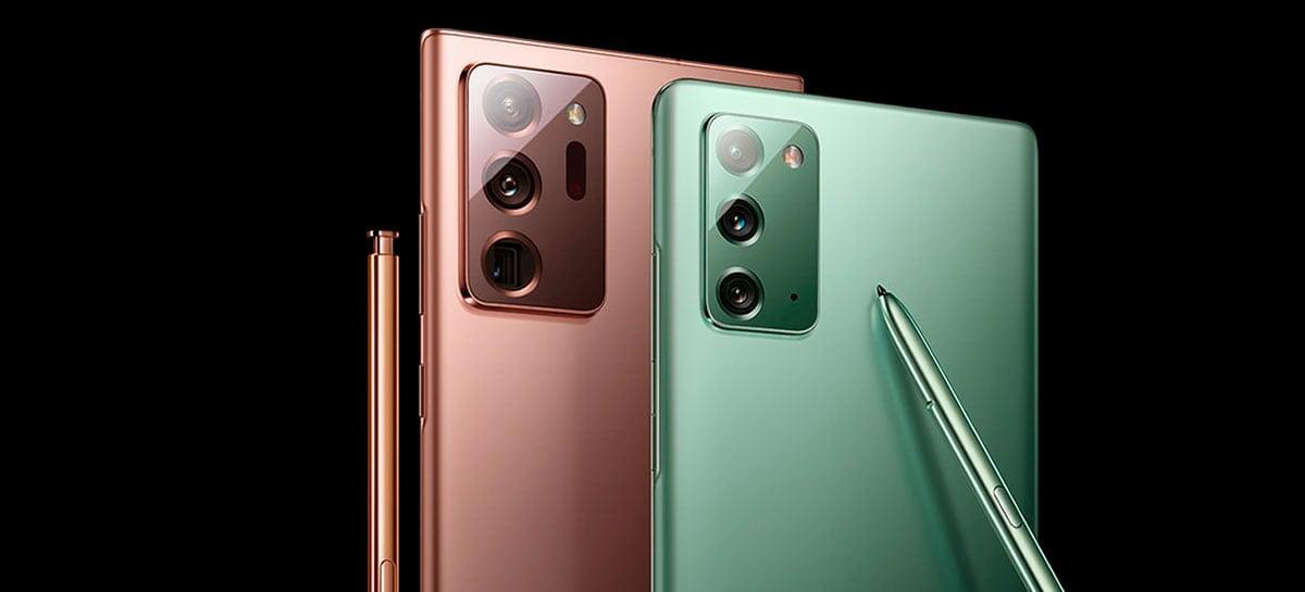 Samsung destaca algumas características desconhecidas pelos usuários nos modelos Note20