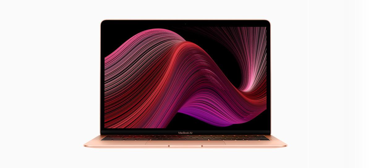 Apple anuncia nova geração do MacBook Air com preços a partir de R$ 10.299