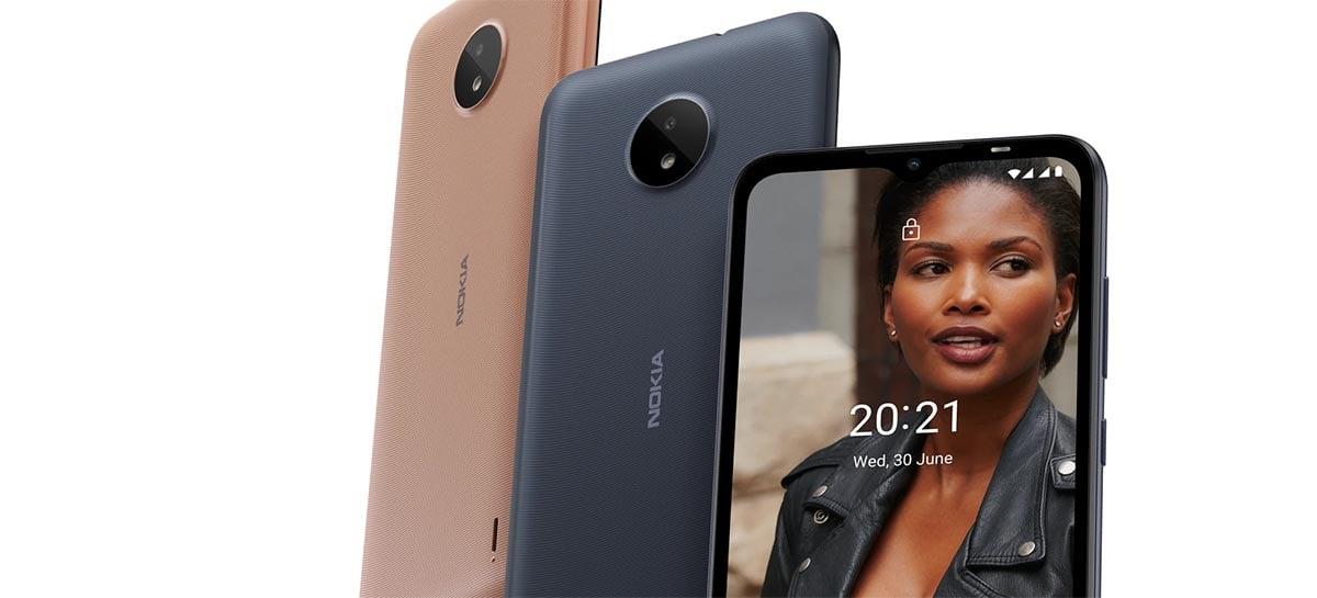 Novo Nokia C30 pode vir com bateria de 6000 mAh e duas câmeras traseiras