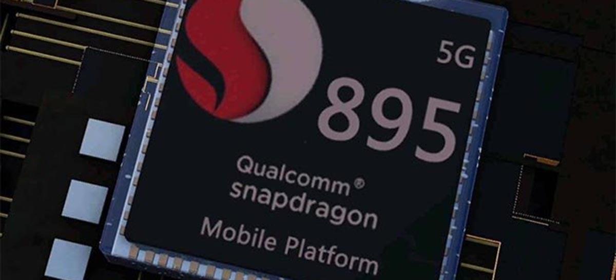 Novo Snapdragon 895 apresenta um desempenho inferior ao A14 Bionic
