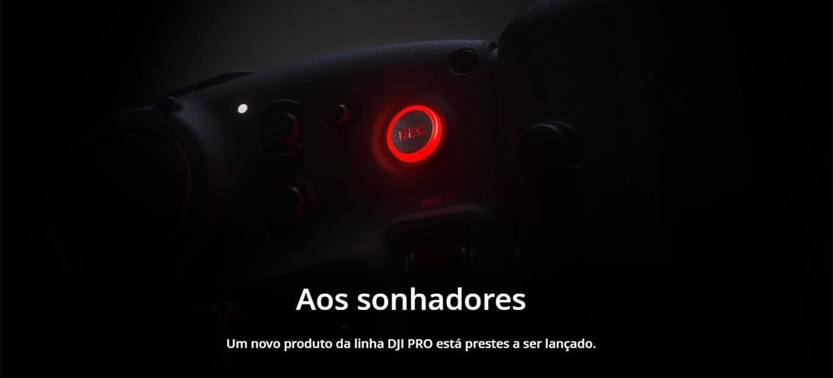 Novo dispositivo da linha DJI Pro será anunciado dia 20 de outubro