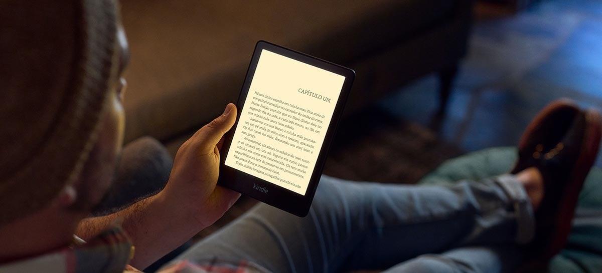 Amazon lança duas novas versões do Kindle Paperwhite no Brasil a partir de R$ 649