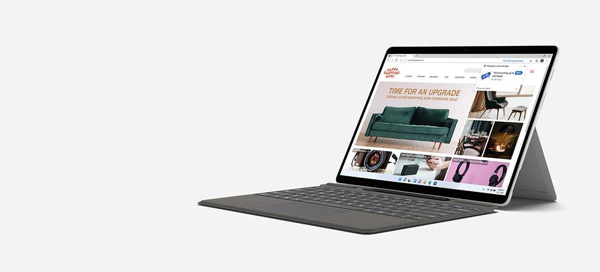 Nova versão do Microsoft Surface Pro X começa em US$ 899 e traz suporte a emulação 64-bit