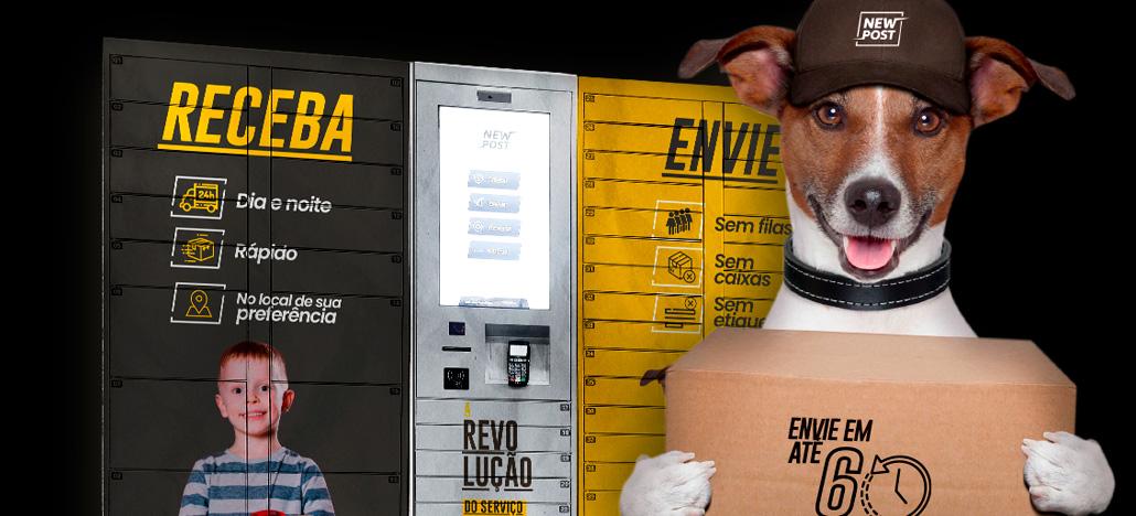 NewPost está implementando sistema de envios e entregas por lockers inteligentes