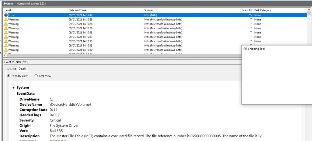 Falha crítica de segurança no NTFS do Windows 10 pode corromper seu HD ou SSD