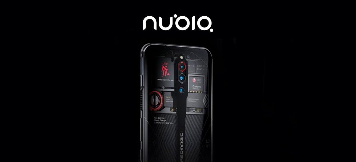 Red Magic 6, smartphone gamer da nubia, será revelado no dia 4 de março