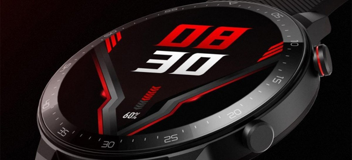 "Nubia faz teaser de smartwatch com visual ""gamer"", o Red Magic Watch"