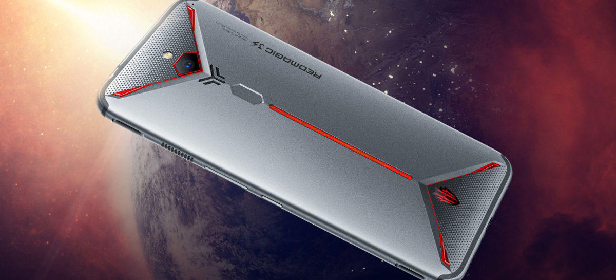 Celular gamer Nubia Red Magic 5G com tela de 144Hz e Snapdragon 865 está chegando