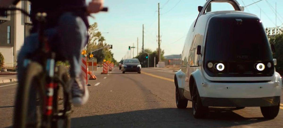 Primeiro delivery autônomo da Califórnia começará a operar com licença em 2021