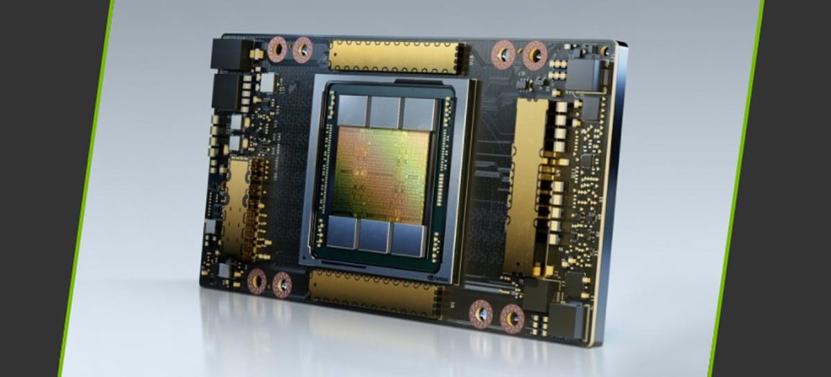 NVIDIA lança GPU A100 com 80GB de memória voltada para supercomputação de IA