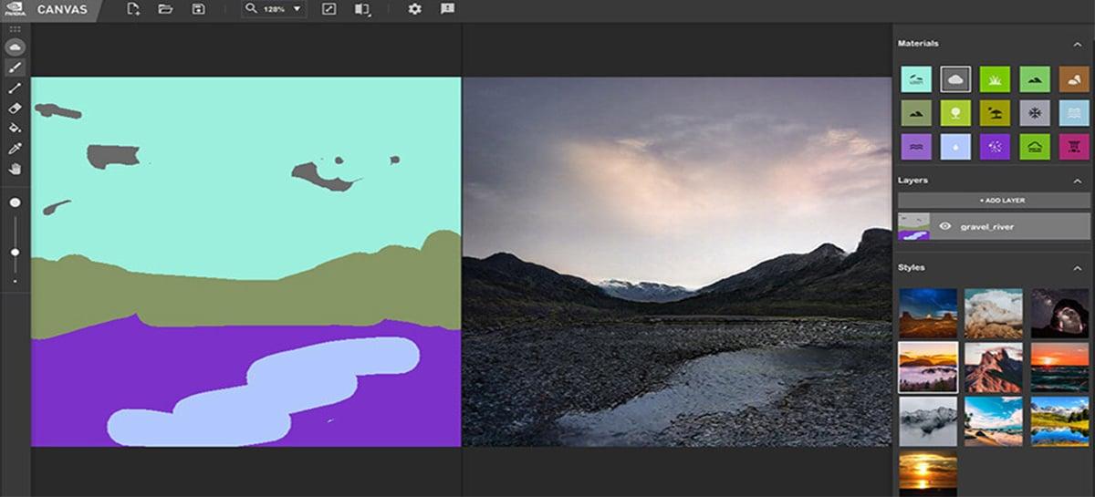 Virei Van Gogh? Nvidia Canvas transforma rabiscos simples em paisagens incríveis