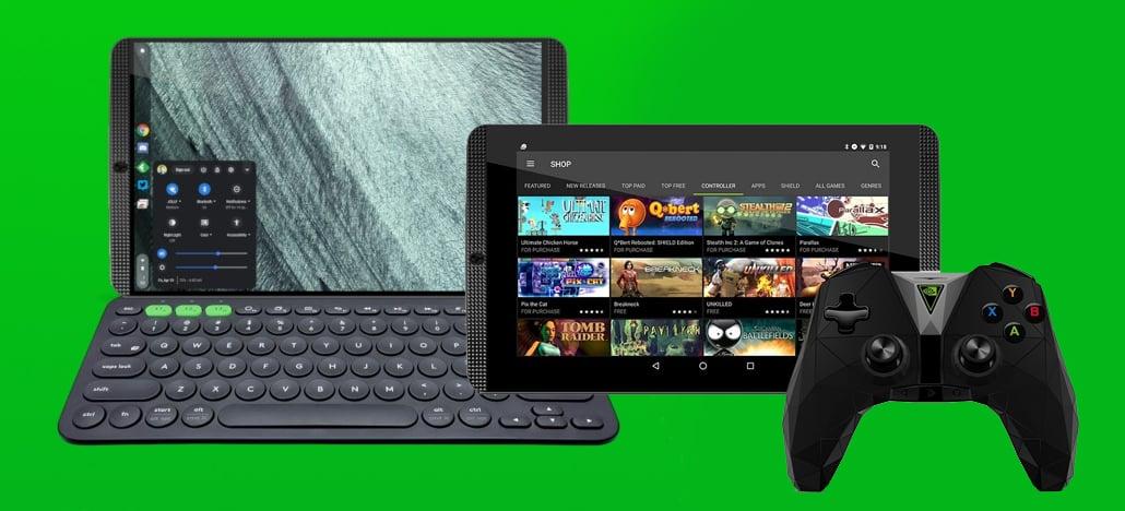 Nvidia pode estar trabalhando em um recurso de modo desktop para um novo Tablet Shield 2-em-1