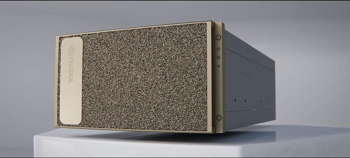 Sistema de IA Nvidia DGX A100 chega com processadores AMD Epyc de 2ª geração